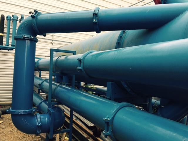 Modified pipework